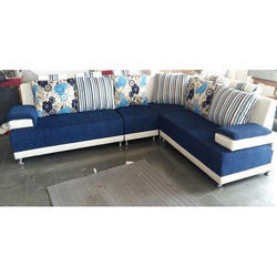 6 Seater L Shape Sofa Set