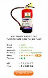 ABC TYPE FIRE EXTINGUISHER 4 KG