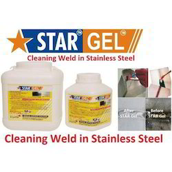 Gel For Cleaning Weld In Stainless Steel
