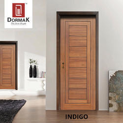 Indigo Veneer Decorative Wooden Door