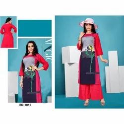 Fancy Rayon Digital Printed Kurti