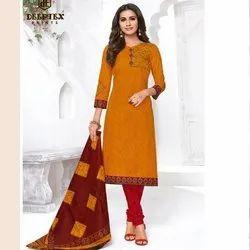 Fashionable Design Cotton Dress Material