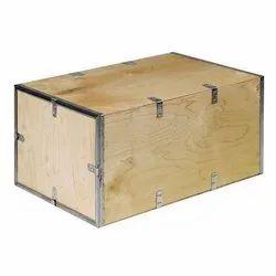 Nailless Plywood Brown Rectangular Box