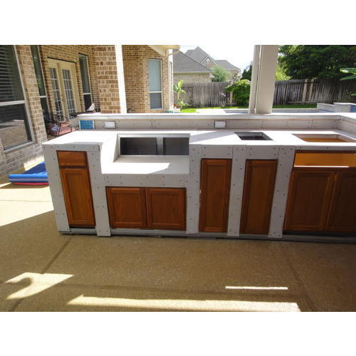 Outdoor Buffet Counter Catering, Outdoor Sideboard Cabinet
