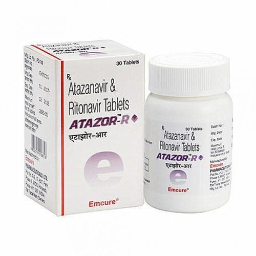 Atazor R Tablets, Treatment: Anti Hiv, Packaging Type: Bottles, Rs 1600  /bottle | ID: 20229274555