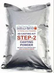 Dream Gifts Yellow Casting Powder for 3D Hand Casting (1 Kg)