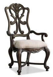 Wooden Back Arm Chair, Dining Chair, Wooden Furniture
