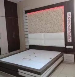 Black Modular Bed
