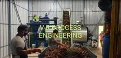 Chicken waste Rendering plant
