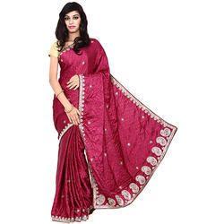 Fancy Designer Bandhej Saree