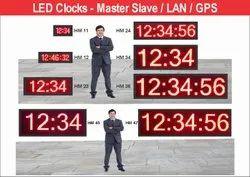 LED Master Slave Clock, 230v