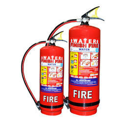CO2 Based A Class Water Type Stored Pressure Fire Extinguishers For Industrial Use, Capacity: 9 L
