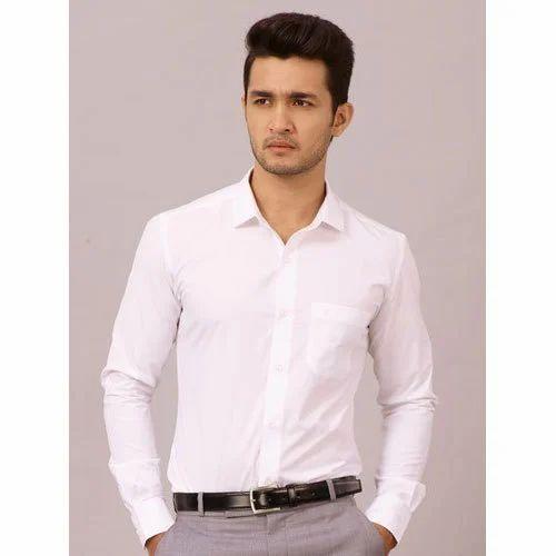 e99bf9b6 Plain Regular Fit Cotton Shirt, Rs 995 /piece, Aishwarya Enterprises ...