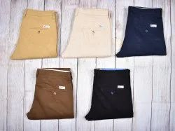 Multicolor Chinos Dobby Cotton Pant