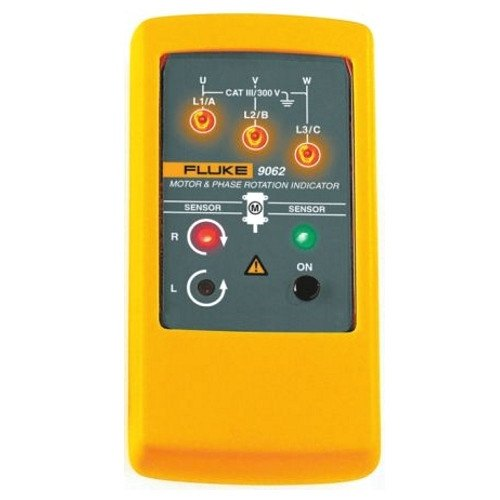 Phase Sequence Indicator - Fluke 9062 Motor and Phase Rotation