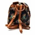 Kidofash Bear Embroidery Fashion Back Pack Cum Hand Bag for Kids