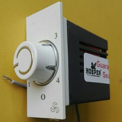 Polycarbonate White Hosper Fan Regulator, for Ceiling Fan