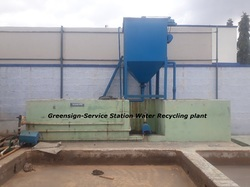 Automobile Water Recycling Plant