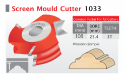 Double Round Mould Bits