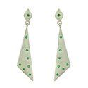 Earring 925 Sterling Silver Gemstones