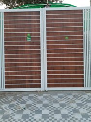 hpl sheet Royal Laminates Exterior Gate Laminates, For Home