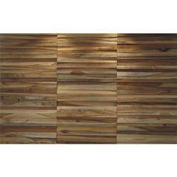 Decorative Teak Wood Wall Panel