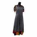 Designer Long Anarkali Cotton Kurti