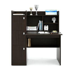Furniture Pride Brown Wooden Study Table, Size: 42, 1