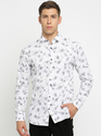 New Stiles Full Sleeves White Casual Shirts