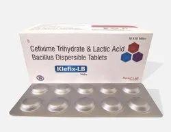 Klefix-LB (Cefixime Lactic acid Bacillus Tablets)