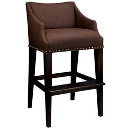 Wooden Brown Bar Chair