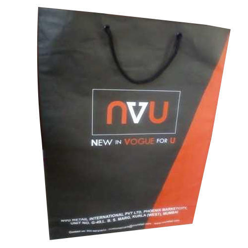 Eco Friendly Printed Paper Carry Bag