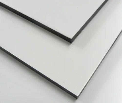 FLEXIBOND White Metallic Aluminum Composite Panel