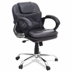 Black DZYN Furnitures Leatherette Office Executive Chair