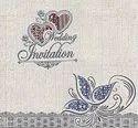 Designer Wedding Invitation Cards, Size: 7.5x7.5 Inches