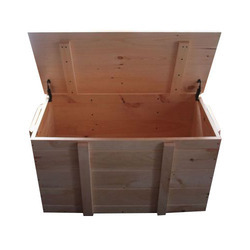 Pine Wood Storage Box
