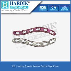 Locking Superior Anterior Clavicle Plate 3.5mm