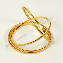 Gold Artifical Jewellery pvd coating