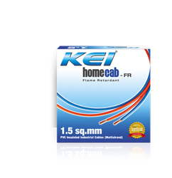 KEI Crossectional Size: 1.5 Sqmm House Wire
