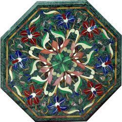 Pietra Dura Italian Marble Inlay Table Top