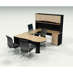 Wood Office Computer Table