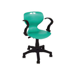 Plastic Seat Office Chair