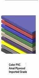 Multicolor Plain Color PVC Muliboards, Size: 8X4