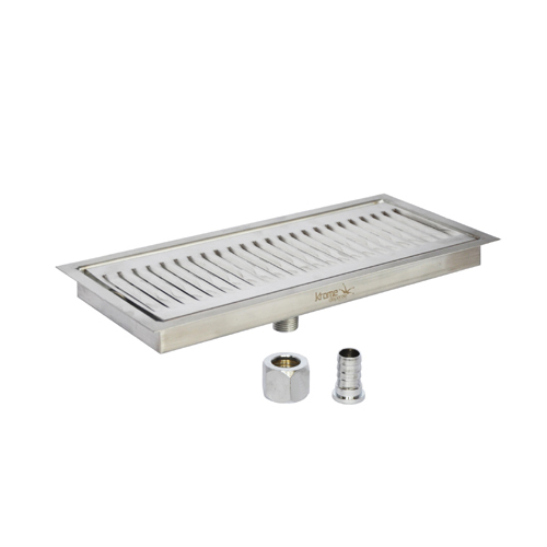 "Stop Spills /& Leaks 14 7//8/"" Counter Top Drip Tray Stainless Steel No Drain"