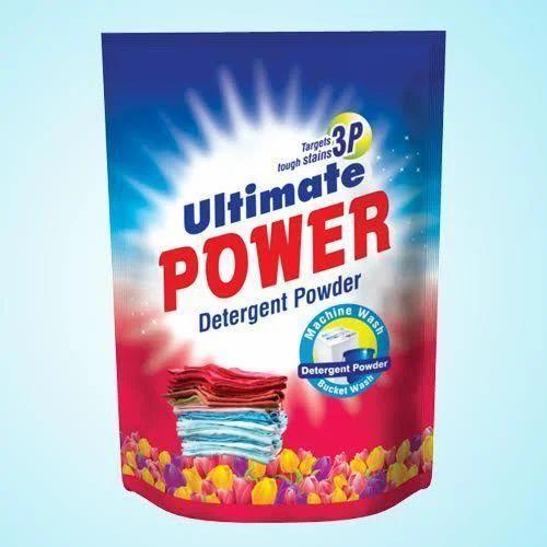 Detergent Powder Plastic Packaging Pouch