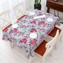 Crystalflakes Rectangular Printed Vinyl Table Cover, Size: 54x78 Inch