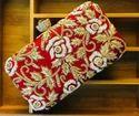 Ladies Fashion Zardosi Box Clutch