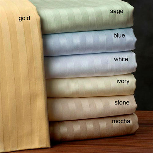 Dyed Cotton Satin Stripe Fabric in 220 TC, Packaging Type: Bale, GSM: 150-200 GSM