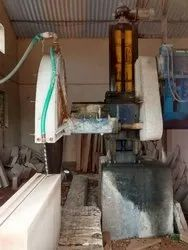 Single Piller Stone Block Cutting Machine