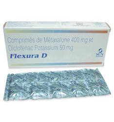 Comprimes de Metaxalone et Diclofenac Potassium Tablets